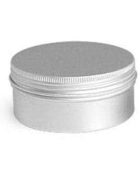 Aluminum Screw Top Tin with