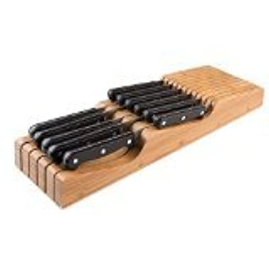 Bellemain 100% Pure Bamboo in Drawer Knife Block , Knife Organizer