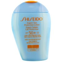 Shiseido Expert Sun Protection Lotion Wetforce for Sensitive Skin and Children SPF 50+ UVA, 3.3 Ounce