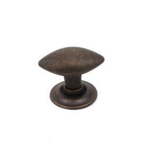 (Century Rio 30mm Oval football knob,