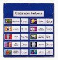 CDPCD5612 - Carson dellosa Job Pocket Chart w/14 Assignment Cards (Assignment Job Chart)