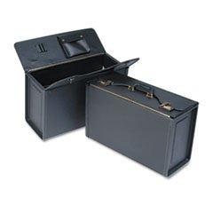 * Tufide Catalog Case, Vinyl, 22-1/4 x 8-3/4 x 13-1/2, Black