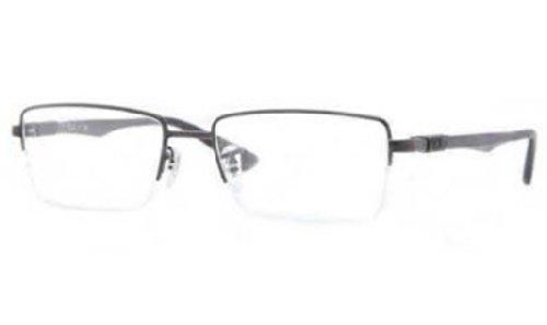 Ray-Ban Men's RX6263 Eyeglasses Shiny Black - Men Raybans In Black