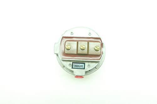 BEC CONTROLS R72-2-GV-184 Pressure Switch 0.85-5IN-WC 30IN-WC 125V-AC D632833 (Bec Switch)