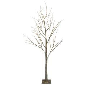 Large LED Birch Tree, Brown