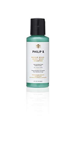 PHILIP B Nordic Wood Hair and Body Shampoo, 60ml