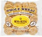 Neva Betta Whole Wheat Crackers, 5.5OZ (Pack of 36)