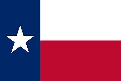 (SoCal Flags State of Texas Flag 3'x5' Polyester Texas State Flag - Buy from an American Company!)