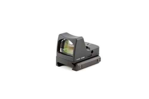 Trijicon RM01-33 RMR 3.25 MOA LED Red Dot Sight, Black with RM33 Low Picatinny Rail Mount (Trijicon Ruggedized Miniature Reflex Low Picatinny Rail Mount)