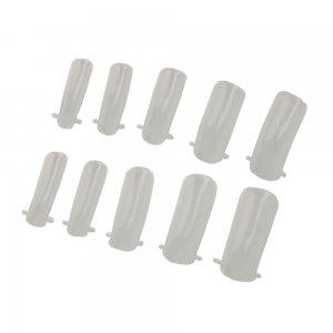 100pcs Dual Nail System Form for UV Acrylic Nail Art Tip: Amazon.es: Electrónica