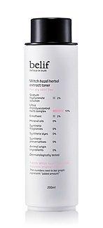 KOREAN COSMETICS, LG Household & Health Care_ belif, Witch Hazel Herbal Extract Toner 200ml (for dry skin, moisturizing, nutrition supply)[001KR]