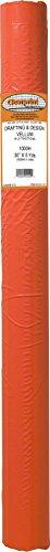 Clearprint 1000H Design Vellum Roll, 16 lb, 100% Cotton, 30 Inches W x 5 Yards Long, Translucent White, 1 Each (10101137)
