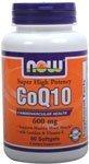 NOW Foods CoQ10 600mg, 60 Softgels, Health Care Stuffs