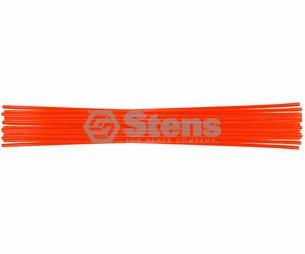 """Stens 751-127 Hollow Driveway Marker 26"""", Orange"""