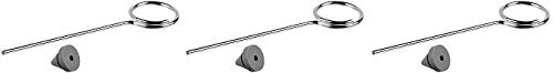 Ives Commercial SR64BG Door Silencer for Metal Frame, Rubber, 100 per Bag (2) ()