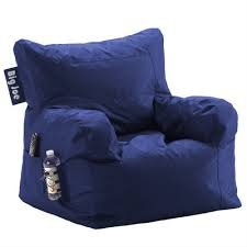 Big Joe Bean Bag Chair Blue