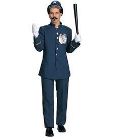 Deluxe Keystone Kop Adult Costume ()