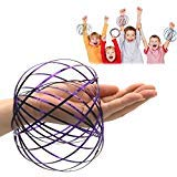Amazing Magic Flow 3D Kinetic Ring Spring Toy Outdoor Game Intelligent Relax, JRD