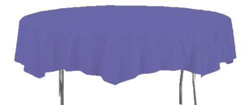 Creative Converting Purple Plastic Tablecover 82