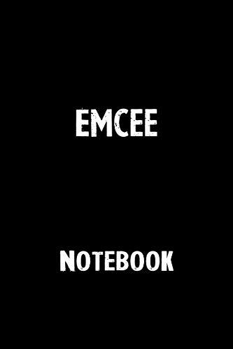 Emcee Notebook: Blank Lined Notebook Journal Gift Idea