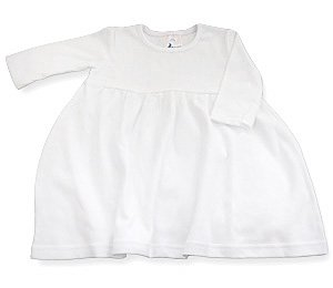 Amazon.com: Baby Jay, Infant, Toddler White Empire Dress - Long ...