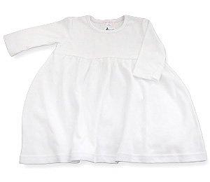 Amazon.com: Baby Jay Infant Toddler White Empire Dress - Long ...