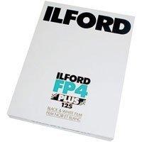 Ilford FP4 Plus Fine Grain Medium Speed Black and White Film, ISO 125, 4x5