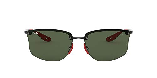 Ray-Ban Men's Rb4322m Scuderia Ferrari Collection Square Sunglasses