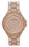 Michael Kors Camile Rose Crystal Pave Rose Gold-tone Ladies Watch MK5948