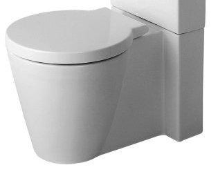 Duravit 02330900001 Starck 1 Toilet Bowl with Horizontal Outlet ...