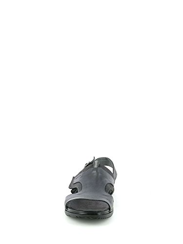 GRUNLAND Uomo CREN SA1625 Sandalo P Nero Z1rZq