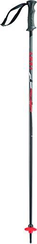 LEKI Kinder Skistock Rider, Base Color: Black/ Design: Red-White-Anthraite, 75 cm, 637-4414