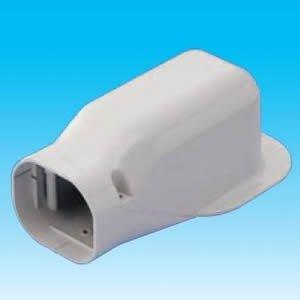 10個セット スリムダクトLD ウォールコーナー 壁面取り出し 90タイプ ホワイト LDW-90-W_set
