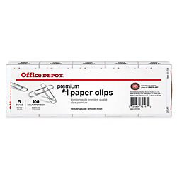 office-depot-brand-paper-clips-no-1-silver-100-clips-per-box-pack-of-5-boxes