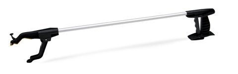 Lumex Deluxe Reacher - Mobility Aid Grabber, Anti-Slip, 360 Degree Rotation Reaching Tool for Elderly, 30 inches Length, 5691