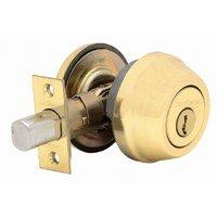 780 Series Single Cylinder Deadbolt (KWIKSET 780-L03 Single Cylinder Deadbolt, Lifetime Polished Brass)