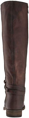 Boot Frye Belted Women's Stone High Extended Melissa Knee Tall fqHfAWg