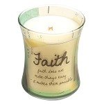 Woodwick Inspirational Collection Candle - Faith - NEW