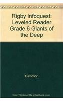 Read Online Rigby InfoQuest: Leveled Reader Grade 6 Giants of the Deep pdf epub