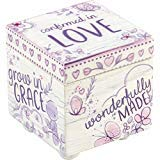 Precious Moments Confirmed In Love Wood Keepsake Box 182413