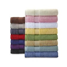 The Original Deluxe Bath Towels, 27'' x 52'' , Pack Of 7 Towels ( White, Sage, Pink, Light Brown, Light Purple, Ivory, and Blue)