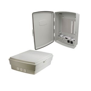 [Hana Wireless HW-NA14-1 14 x 10 x 4 in. Weatherproof Wireless Enclosure with 120 VAC Power Module] (Wireless Enclosure)