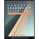 Leadership Descriptor Participant's - Text & Workbook (02) by Campbell, David P [Paperback (2002)]