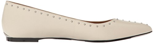 Calvin Klein Women's Genie Pointed Toe Flat, Soft White, 8 M US by Calvin Klein (Image #7)
