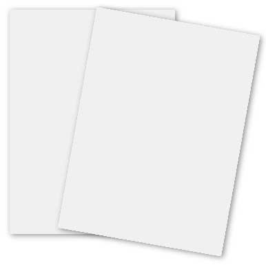 White Card Stock - Size 18 X 12 - 100 Lb Cover - 270 g/m Cover. (250 Sheets) by S Superfine Printing (Image #1)
