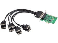 - Syba Multimedia SI-PEX15041 8PORT PCI-E CARD RS-232 SERIAL REVISION 2.0 WITH EXAR CHIPSET