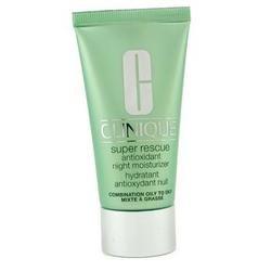 Skincare-Clinique - Night Care-Super Rescue Antioxidant Night Moisturizer (Combination Oily To Oily)-50ml/1.7oz