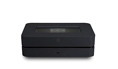 Bluesound POWERNODE 2i Wireless Multi-Room Streaming High-Res Amplifier - Black - Works with Alexa and Siri