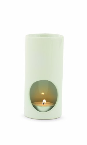 Candle Warmers Etc. Jamie Clair Tea Light Oil Warmer, White