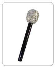 Pop S (Glitter Microphone Silver)